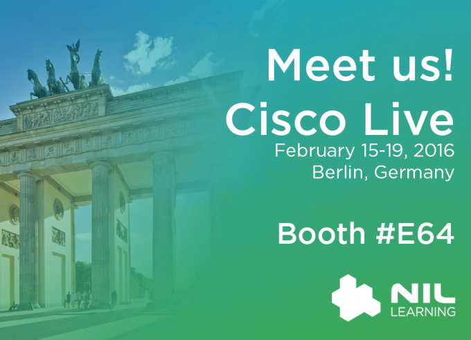 Meet us at Cisco Live, Berlin!