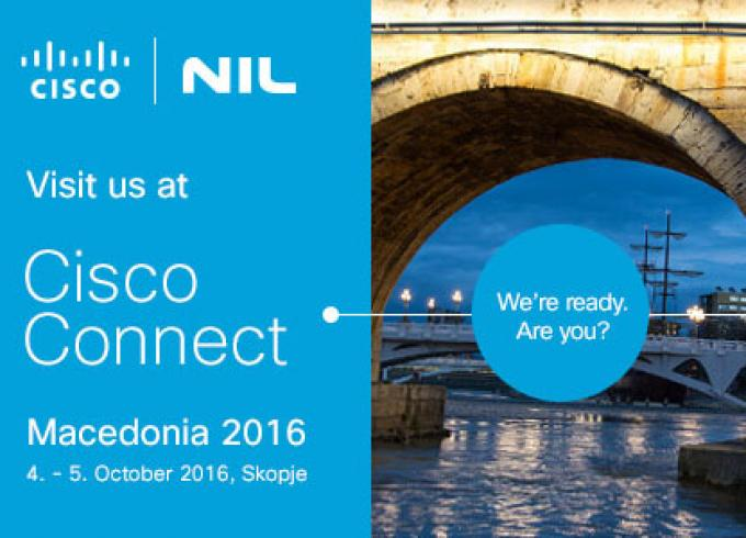 NIL at Cisco Connect Macedonia 2016 in Skopje