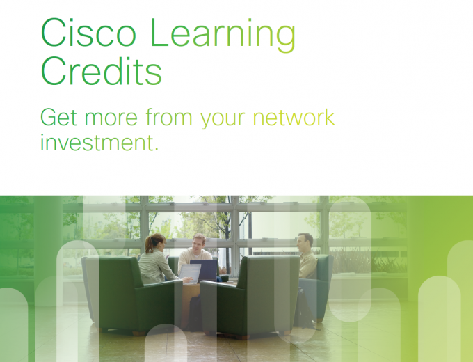 Cisco Learnng Credits - Redeem them here